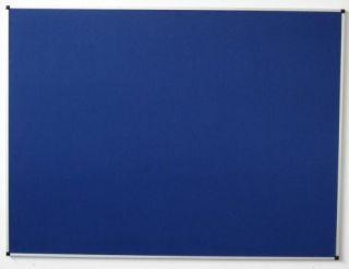 Pinn-Textiltafel, 100 x 200 cm, königsblau