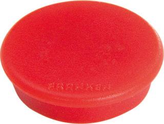Franken Haftmagnete, Farbe rot, Durchmesser 38mm, 10er Pack
