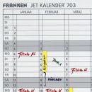 Franken Jahreskalender JK1203 H: 90 cm  B: 120 cm