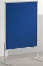Moderationstafel PRO, 120 x 150 cm, blau/Filz,...