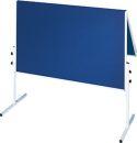 Franken Moderationstafel KLAPPBAR, blaue...