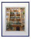 hama Bilderrahmen Sevilla blau für DIN-A3-Format