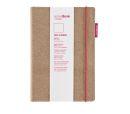 Transotype senseBook RED RUBBER, mit rotem Gummiband...