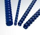 Plastikbinderücken, US-Teilung, Farbe: Blau,...