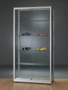 Glasvitrine WME 1000-Tech, silber