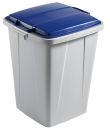 DURABLE Durabin 90 Mülleimer 90,0 grau, blau