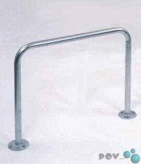 Fahrrad-Anlehnbügel 9111, Länge 100 cm, zum Aufdübeln