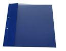 Berichtsmappen blau, 100er Pack, 2 fach geöst,...