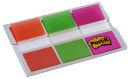 3x 20 Post-it® Index Standard Haftmarker farbsortiert...