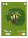 10 Ursus Collegeblöcke Green A4 kariert