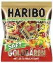 HARIBO SAFT GOLDBÄREN Minibeutel Fruchtgummi