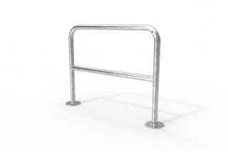 Fahrrad-Anlehnbügel 9221, Länge 120 cm, zum Aufdübeln