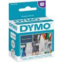 1.000 DYMO Etiketten S0722530 weiß