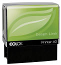 COLOP Textstempel Green Line Printer 40