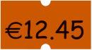 Etiket.Perm.orange 22x12 18ro.
