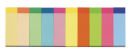 10x 50 Blatt sigel Haftmarker farbsortiert