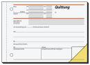 1 sigel Formularbuch SD021 Quittung, MwSt. separat...