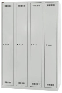 BISLEY LIGHT Garderobe, grau