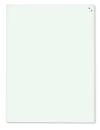 Magnetische Schreibtafel, Glastafel, 100 x 50 cm, weiß