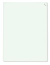 Magnetische Schreibtafel, Glastafel, 80 x 60 cm, weiß