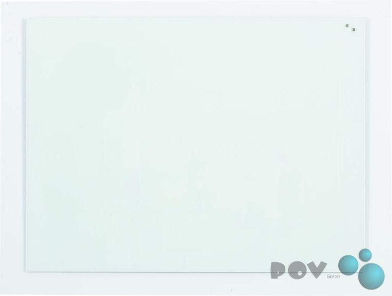 Glastafel reinweiß Magnetische Design-Schreibtafel 150 x 120 cm