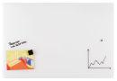 Magnetische Design-Schreibtafel, Glastafel, 100 x 65 cm,...